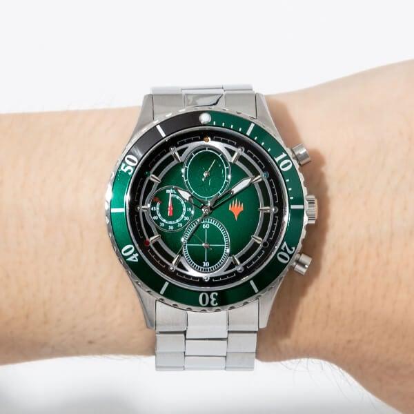 緑マナ モデル 腕時計 マジック:ザ・ギャザリング