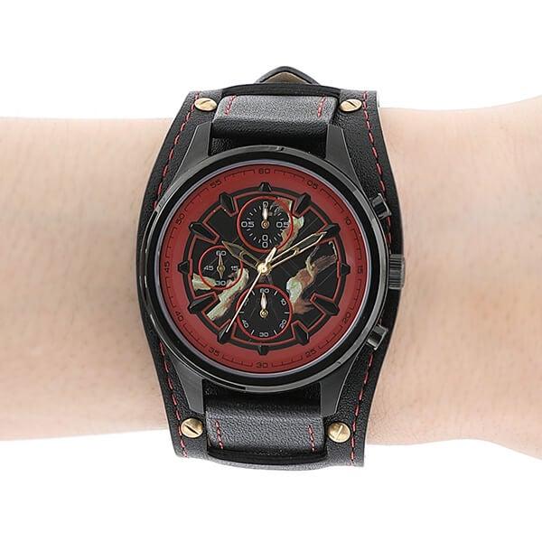ケン モデル 腕時計 ストリートファイターV