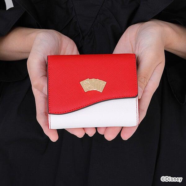 ハーツラビュル寮 デザイン 三つ折り財布 ディズニー ツイステッドワンダーランド