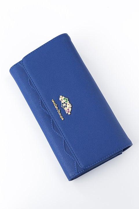 月岡 紬 モデル 長財布