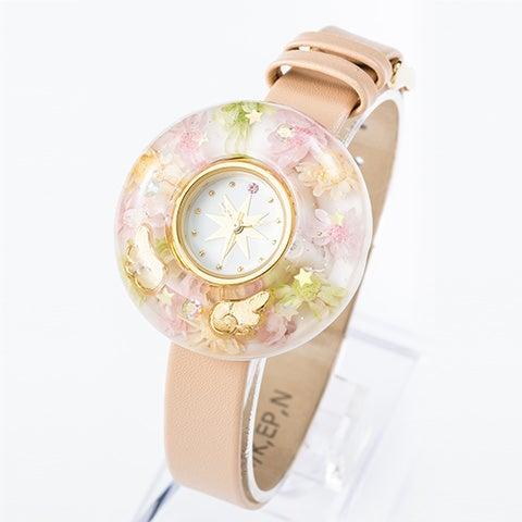 2wayクリア腕時計