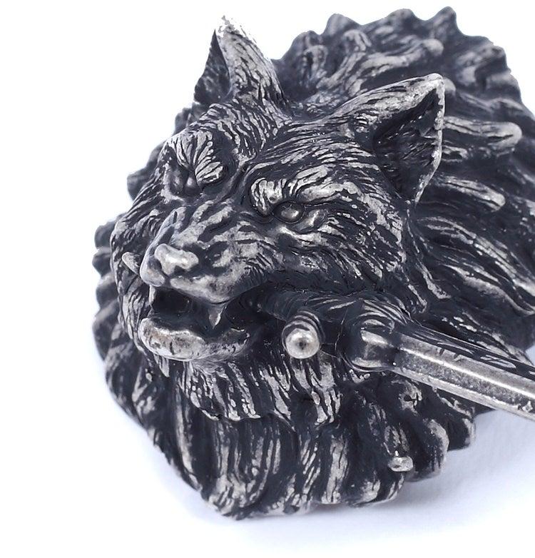 灰色の大狼シフ ブローチ
