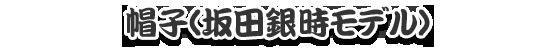 帽子坂田銀時モデル