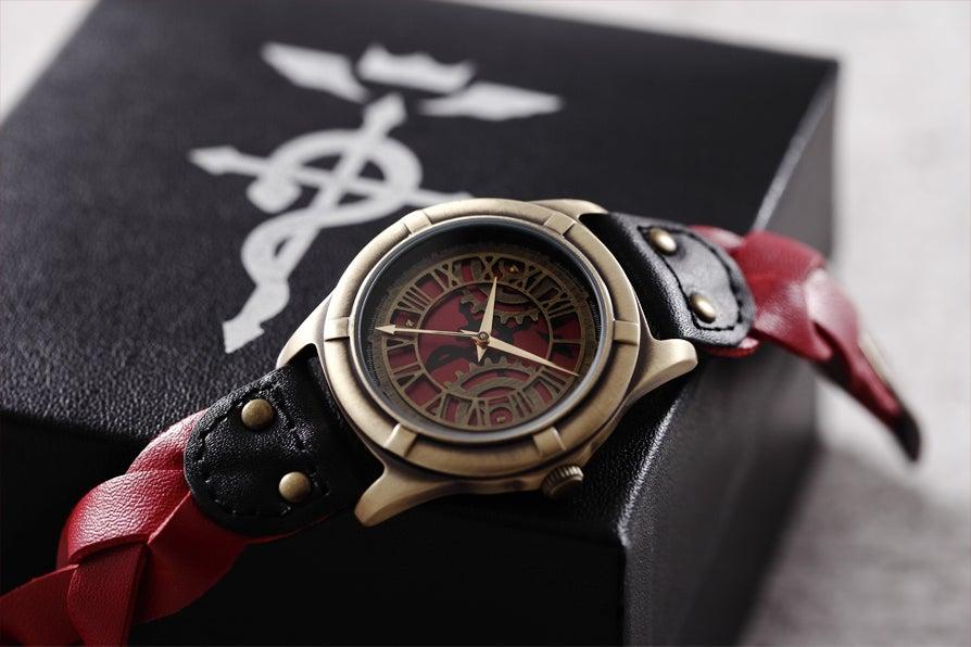鋼の錬金術師 エドワードモデル腕時計