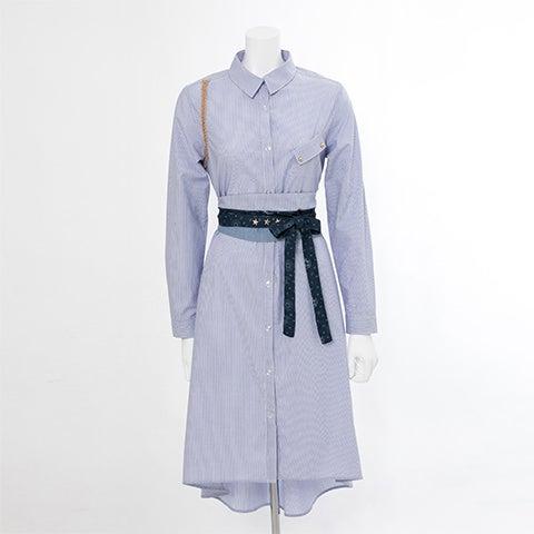 ロイ・マスタング モデル ベルト付きシャツワンピース