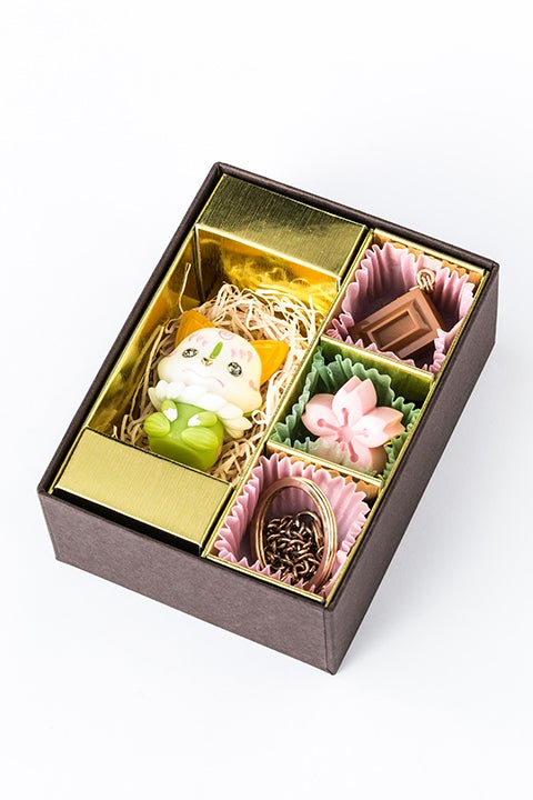 こんのすけ 抹茶チョコ モデル チャームセット