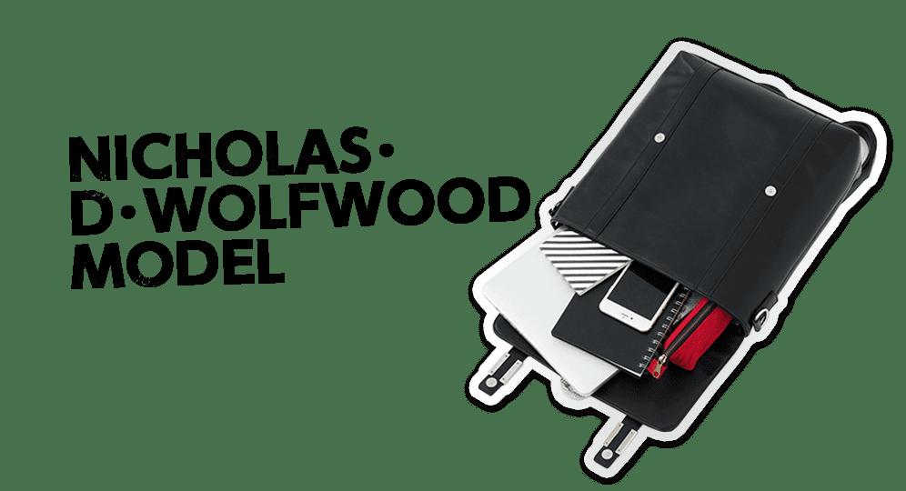 ニコラス・D・ウルフウッドモデル