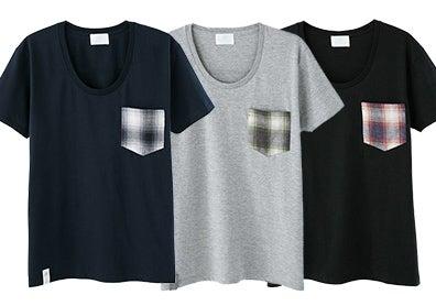 ロングチェックシャツ